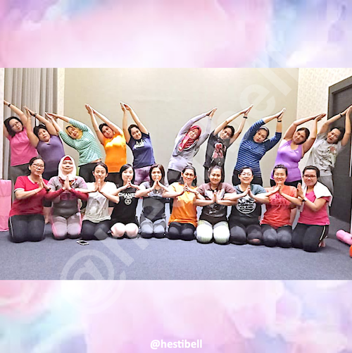 Yoga di Hotel 88 Surabaya