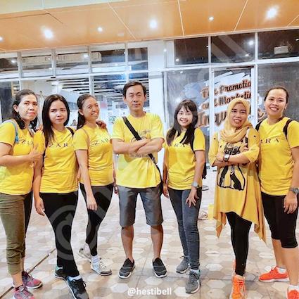 Dresscode warna kuning Zumba HESTIBELL™